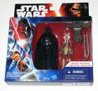 2 Pack Darth Vader & Ahsoka Tano 3.75 inch Series 1