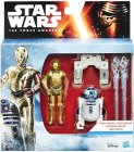 2 Pack R2-D2 & C-3PO 3.75 inch Series 1
