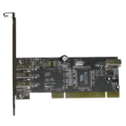 Astrotek IEEE1394a (Firewire400) PCI Card, 3x External + 1x Int.