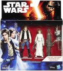 2 Pack Princess Leia & Han Solo 3.75 inch Series 1