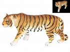 35cm Orange & Black Standing Tiger