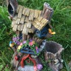 Solar Planter Fairy House