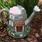 Solar Florist Watering Can House