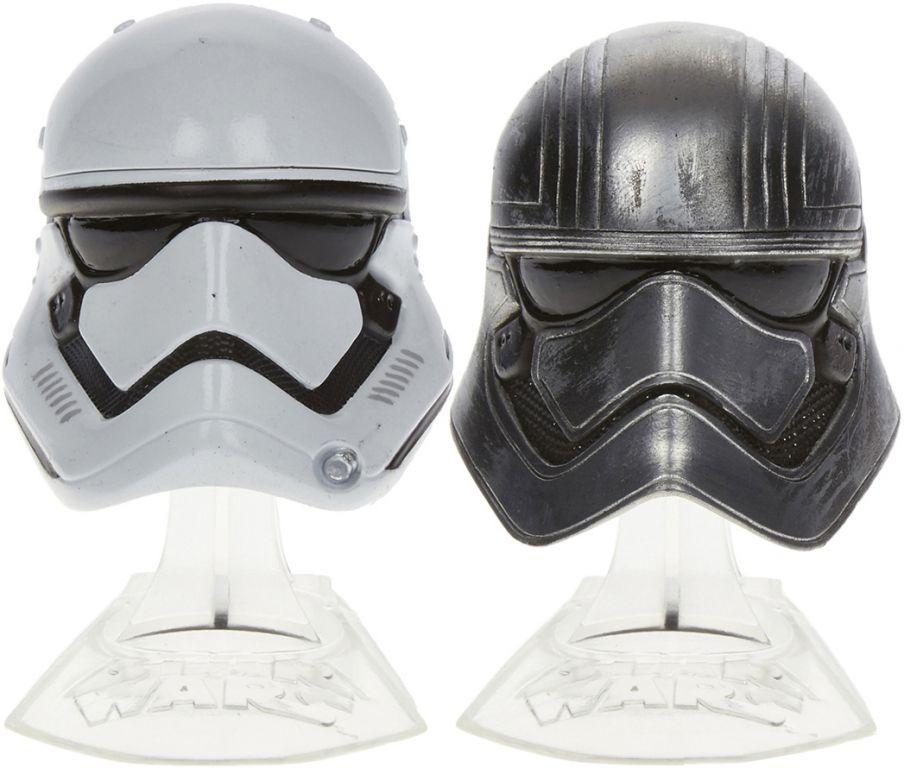 Star Wars Captain Phasma /& First Order Stormtrooper Black Series Diecast Helmet